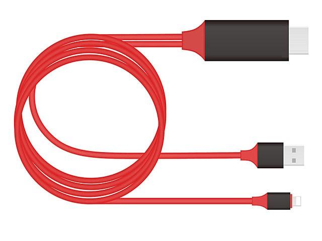 Адаптер переходник Lightning HDTV Cable для iPhone 5/6/7