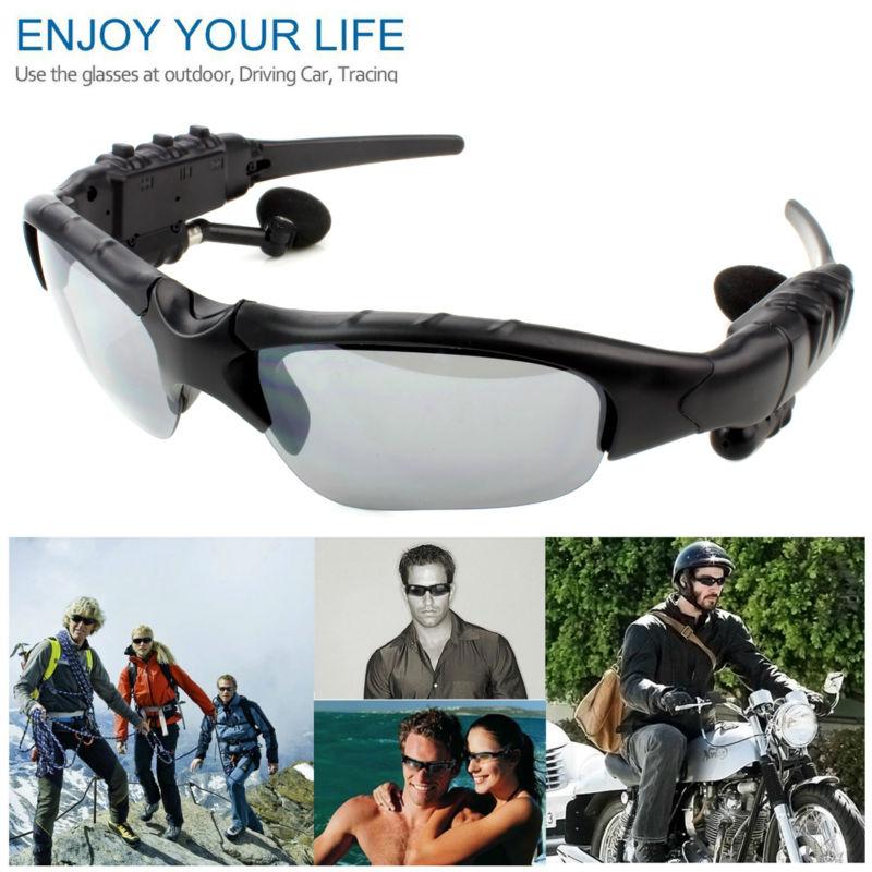 Солнцезащитные очки с наушниками Sunglasses BTglasses - Стоимость 1 250 руб., в магазине МАО77