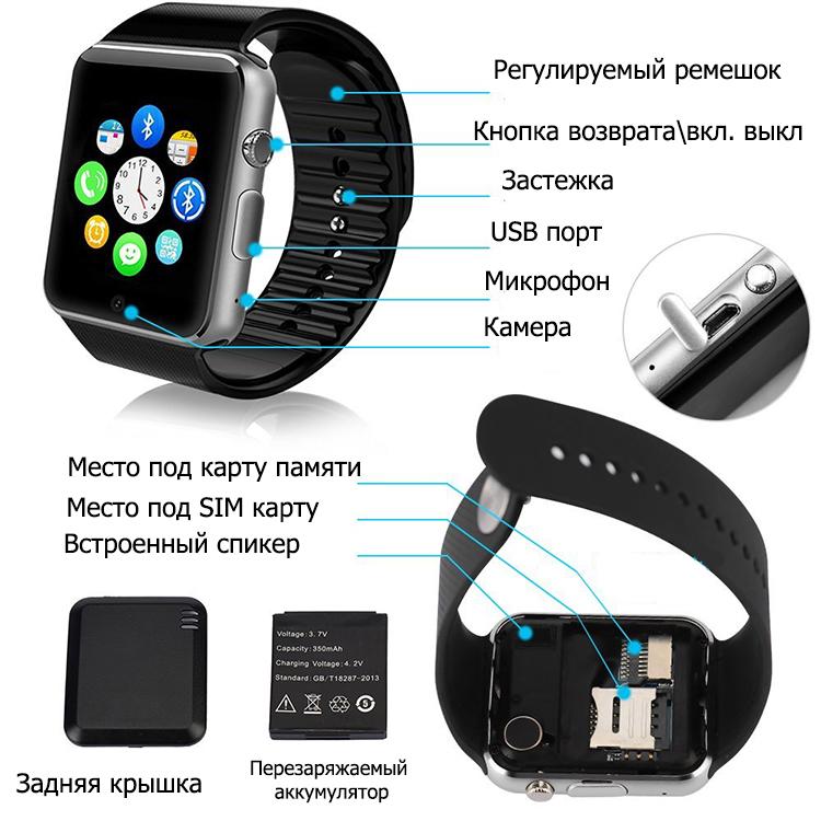 Познакомьтесь с обзором умных часов smart watch dz09 на android и ios и инструкцией на русском.