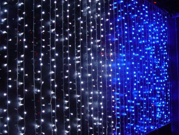 Световой занавес для дома 2х2 м