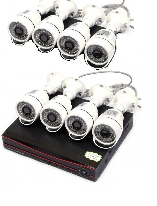 Комплект видеонаблюдения 8 камер XPX K3908 4 MP